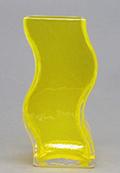 ツイスト花器 小 黄