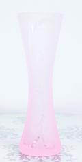 アールヌーヴォー柄花器 ピンク