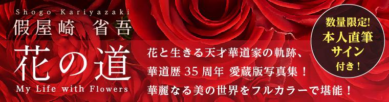 假屋崎省吾 花の道 ~2019年2月刊行予定!~