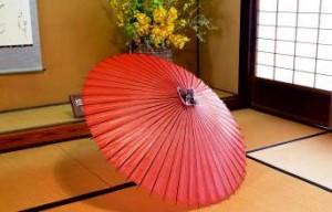 徳島県美馬の「和傘」